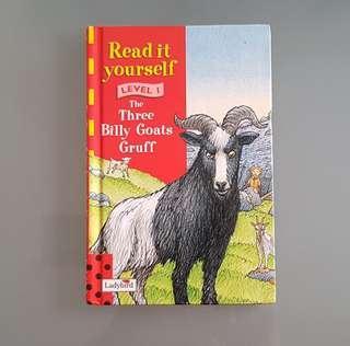 The Three Billy Goats Gruff Storybook