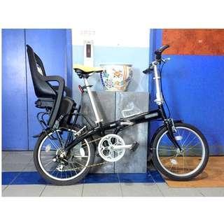 Polisport Groovy Child Seat rack mount (bike not included)