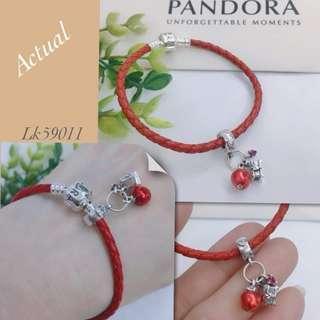 Pandora apple bracelet