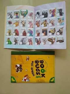 🚚 [WTT/WTS] Brand New Book Bug-opedia With Full Set of Stickers.  To Trade For Booster Cards.