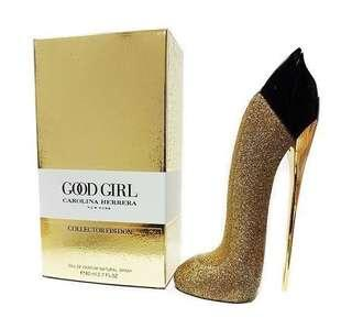 CH Good Girl Collectors Edition Gold Perfume Tester