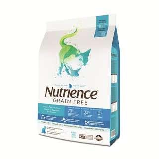Nutrience GF Cat Ocean Fish 5kg Dry Food [Free Delivery]