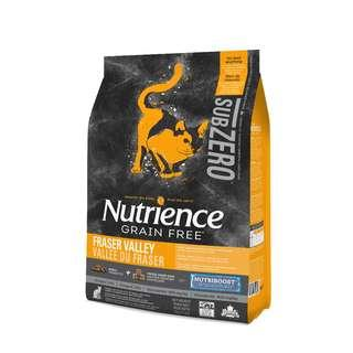Nutrience SubZero Cat Fraser Valley 5kg Dry Cat Food Canada [Free Delivery]