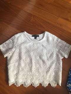 #IDoTrades Lipsy London Crochet Crop Top