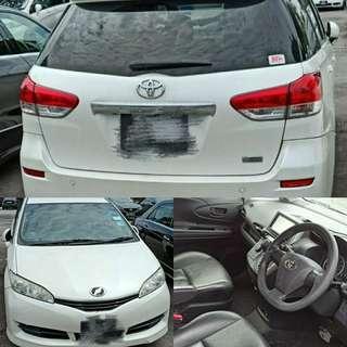 Grab/Gojek ready Toyota Wish for rent