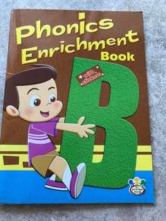Phonics Enrichment Book B with stickers