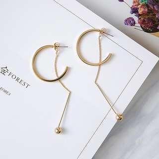Fashion earrings hoop