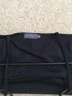 Black crop from mirrou size l