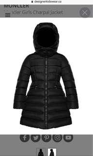 Moncler Charpal Black 12Y (100% new & real)