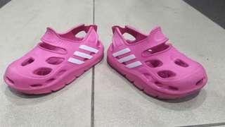 """Free postage"" -- genuine ADIDAS pink SANDAL for HER (size 16cm)"