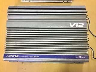 Alpine V12 MRV-1000 (Original) 2/1 channel amplifier