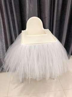 tutu skirt chair