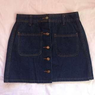 Maong Skirt for ₱120 ONLY!