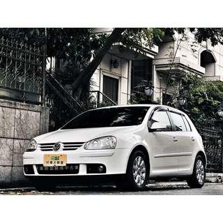 2008年 GOLF TDI 全車系3500元交車,外縣市可配合當日過戶交車