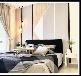 Near to Digi center studio 1 bedroom fully furnished