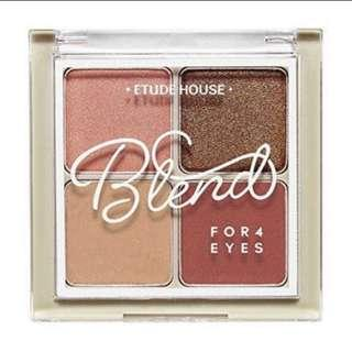 [INSTOCK] Etude House Blend For Eyes #1 Dried Rose Eyeshadow Palette