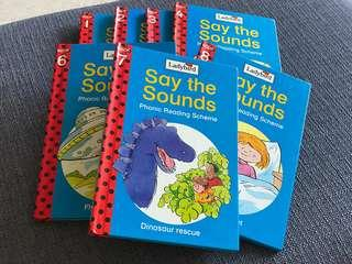 Ladybird series- phonic rearing schemes- say it with sound books