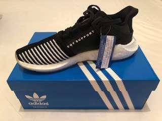 🚚 SALE Adidas EQT 93/17 Black/White/Leather