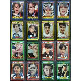 [PO] EXO The War The Power of Music Repackage Official Phptocards Set