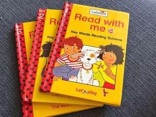 Ladybird Books- key world reading scheme (PRELOVED)