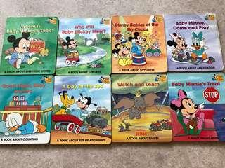 A set of 8 books Baby's First Disney Books