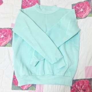 Oversize Mintgreen衛衣