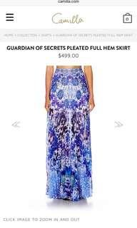 Camilla Skirt - Guardian of the Sea Full Hem Skirt