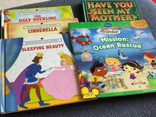 PRELOVED children stories books (5 books)