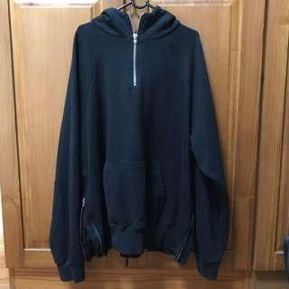 FOG x Pacsun Collection 2 Zipped Hoodie (Black)