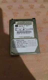 Hdd Laptop 40 GB Toshiba