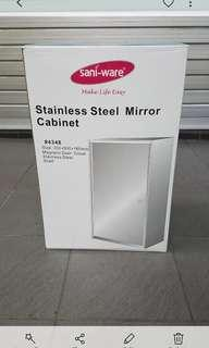 Saniware Stainless Steel Mirror Cabinet