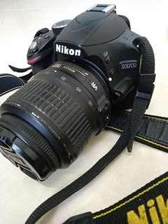 NEGOTIABLE Nikon d3200 w charger can record video 60fps