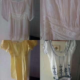 SALE take all 3 atasan/tops cantik