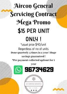Aircon Servicing Promo