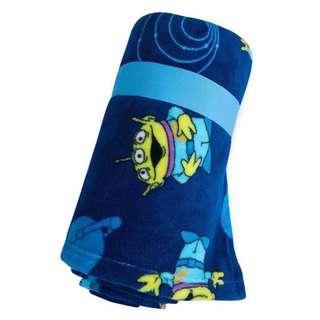 🚚 ✨現貨✨美國迪士尼 Disney 小美人魚 三眼怪 兒童小毛毯 毯子