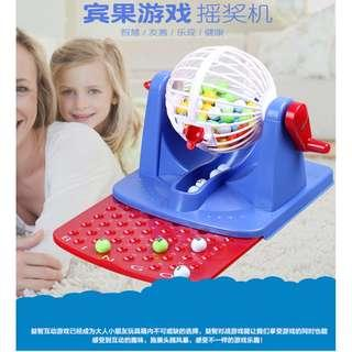Family Game Bingo Lottery Rotary Game Toys