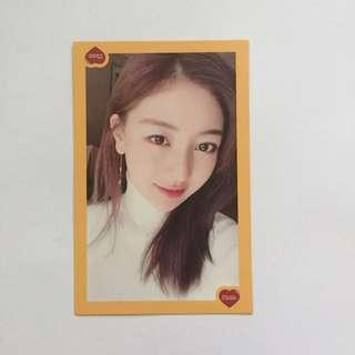 Twice Jihyo Photocard