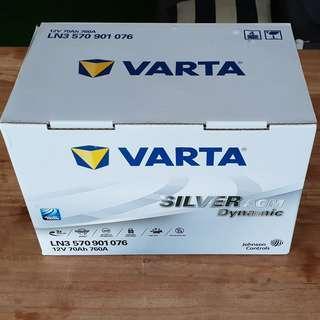 DIN70L Car battery VARTA AGM for Ferrari 360, VW Passat, VW Golf GTi/R, FREE Delivery > Installation for Klang Valley