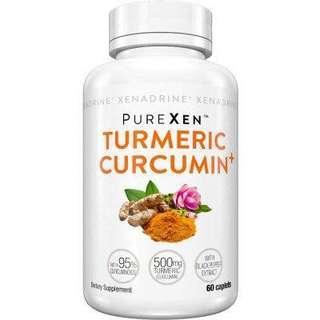 Xenadrine PureXen Turmeric Curcumin+
