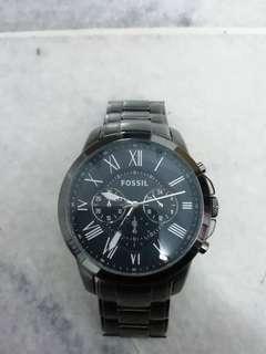 Fossil Grant Chronograph Steel Watch FS4831