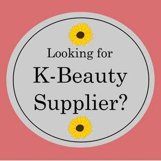 Looking for K-Beauty Supplier?