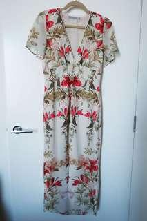 Hope and Ivy floral maxi dress
