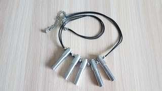 Wind pipe necklace