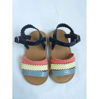 Zippy Multicolored Sandals
