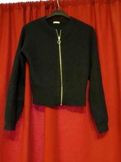 GU針織毛上衣可當小外套~出清含運