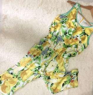 Fruity Silky Jumpsuit