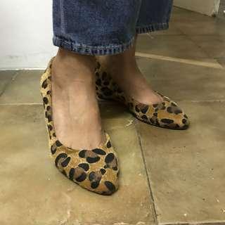 rubi heels leopard