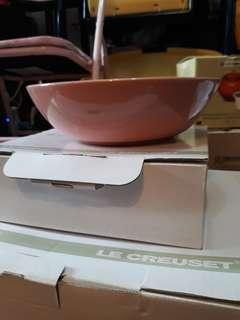 "Le creuset cereal bowl 7"" 18cm pink 碗"