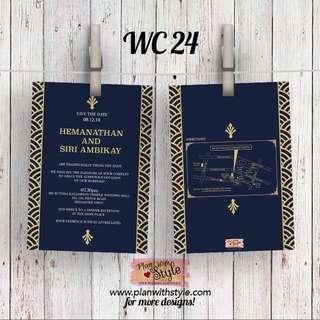 Wedding Card WC24