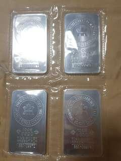 RCM silver bar